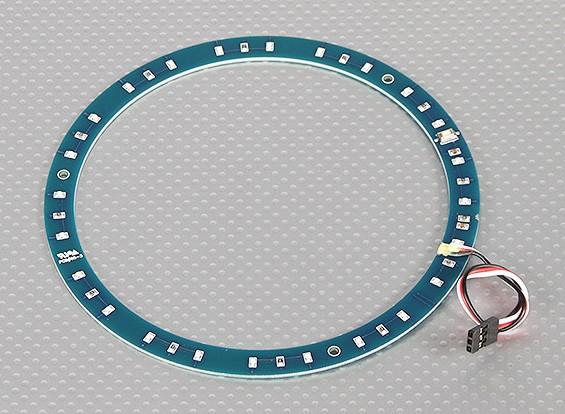 LED-Ring 145mm Red w / 10 wählbare Modi