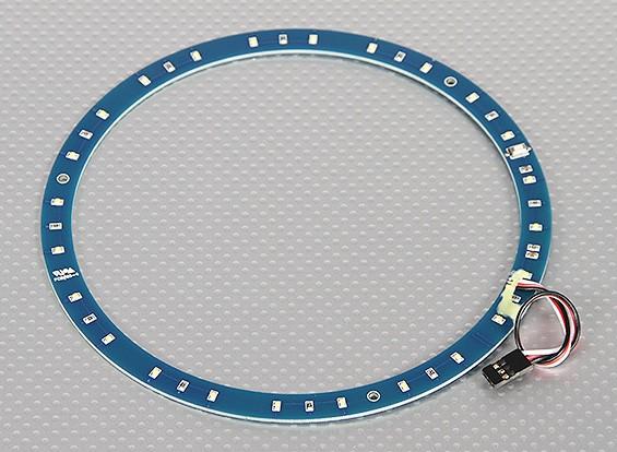 LED-Ring 165mm Weiß m / 10 wählbare Modi