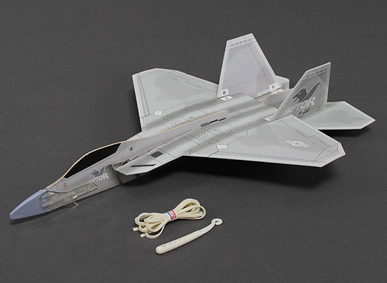Freeflight F-22 Raptor w / Catapult Launcher 360mm Span