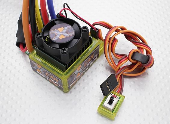 HobbyKing® ™ X-Car 60A Brushless Car ESC (sensored / geber)