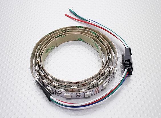 LED Rot, Grün, Blau (RGB) Streifen 1M w / Kabelausgang