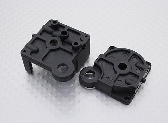 Transmission Bulkhead Set - 16.01 Turnigy 4WD Nitro Racing Buggy, A2040 und A3011