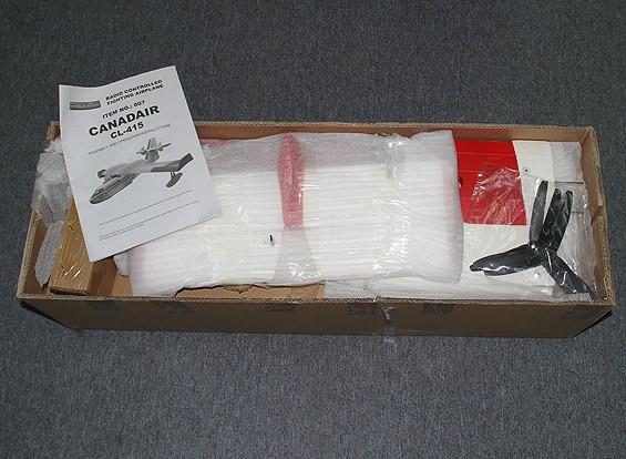SCRATCH / DENT CL-415 Canadair 1390mm (rot / weiß) (ARF)
