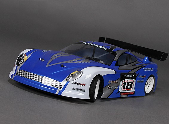 Turnigy GT-10X 1/10 Pan Car w / Carbon-Faser-Chassis (KIT)