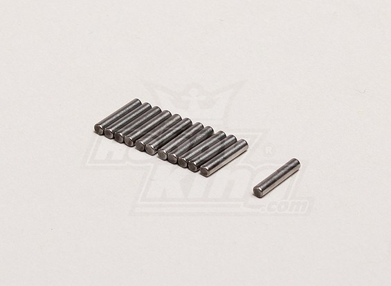 Achsbolzen 2x9.5mm (12pcs / bag) - Turnigy Wegbereiterin 1/8, XB und XT 1/5