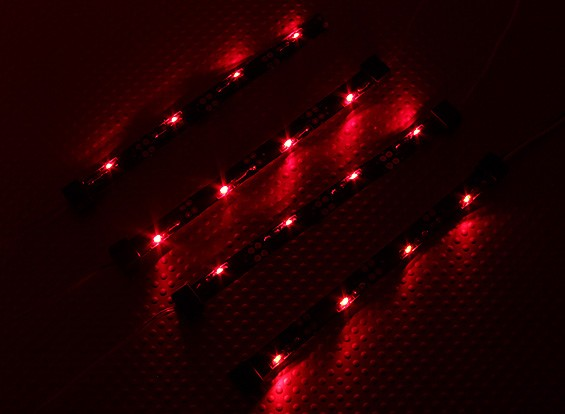 7-Modus RC Car Chassis Lighting System (rot)