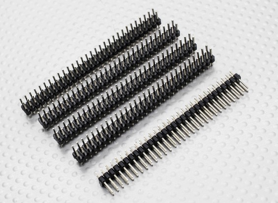 Stiftleiste 2 Zeile 30 Pin 2,54 mm Pitch (5PCS)