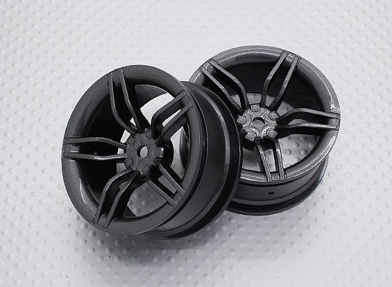 Maßstab 1:10 Hohe Qualität Touring / Drift Felgen RC Car 12mm Hex (2pc) CR-FFM