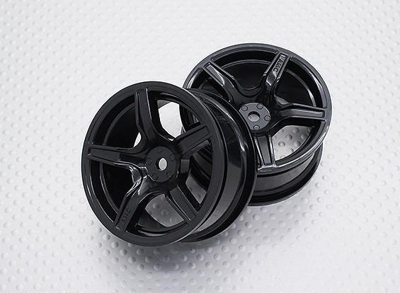 Maßstab 1:10 Hohe Qualität Touring / Drift Felgen RC Car 12mm Hex (2pc) CR-C63NB