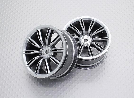 Maßstab 1:10 Hohe Qualität Touring / Drift Felgen RC Car 12mm Hex (2pc) CR-VIRAGES