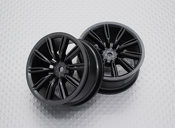 Maßstab 1:10 Hohe Qualität Touring / Drift Felgen RC Car 12mm Hex (2pc) CR-VIRAGEM