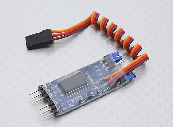 Turnigy Smart-Einziehfahrwerk - Getriebe und Door Sequencer