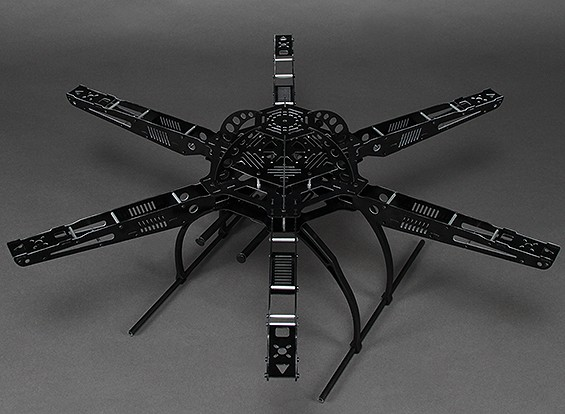 Hobbyking S650 Glass Fiber Hexcopter Rahmen 655mm