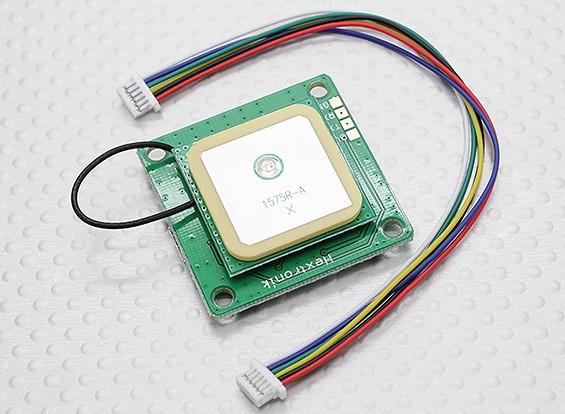 UBlox LEA-6H-GPS-Modul w / eingebauter Antenne 2.5m Genauigkeit