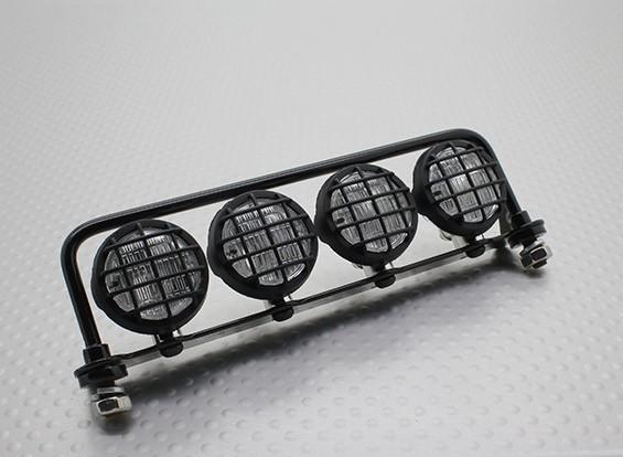 Crawler / Truck Light Bar Set mit LEDs (Schwarz)