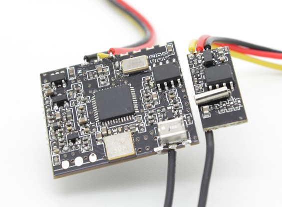 1.2GHz 100mW Video Sender und Empfänger Combo