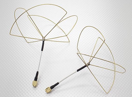 1,2 GHz zirkular polarisierte Antenne RP-SMA (Set)