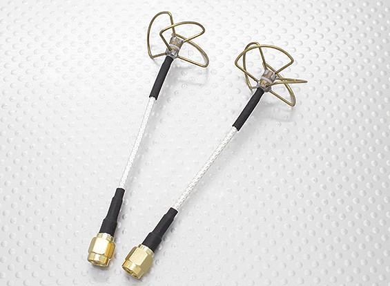 5,8 GHz zirkular polarisierte Antenne SMA (Sender und Empfänger)