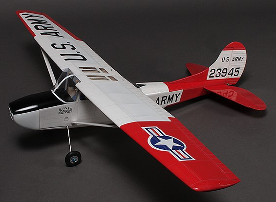 L-19 Bird Dog, Balsa / EP, 1250mm (ARF)