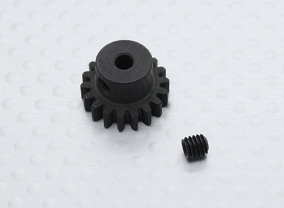 18T / 3,17 mm 32 Pitch gehärteter Stahl Ritzel