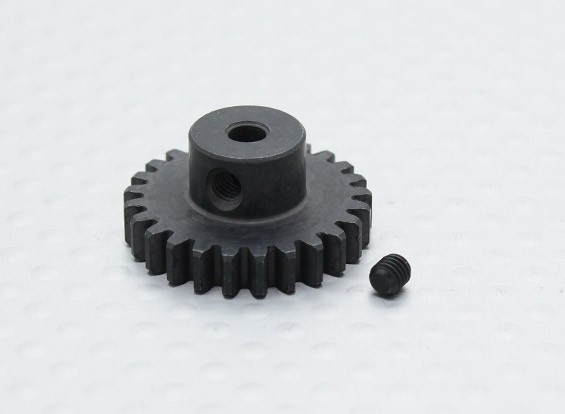 25T / 3,17 mm 32 Pitch gehärteter Stahl Ritzel