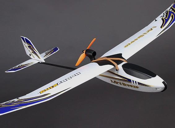 HobbyKing® ™ Mini Breeze Glider EPO 900mm w / Motor (ARF)
