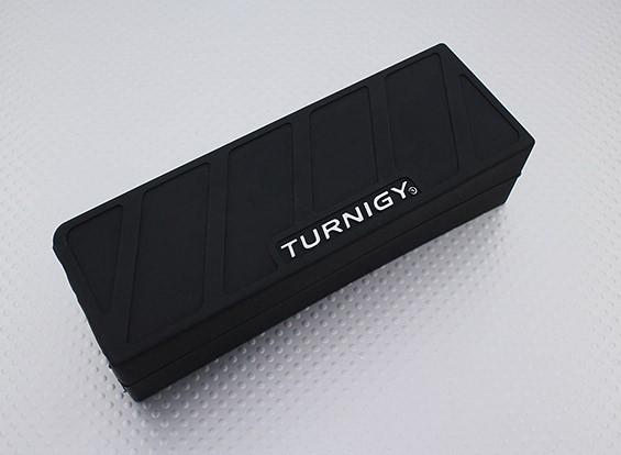 Turnigy weiche Silikon-Lipo Batterie-Schutz (5000mAh 4S Schwarz) 148x51x37mm