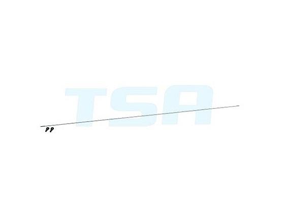 TSA Infusion 700E Pro, 700N PRO - Hecksteuer Push-Rod Set