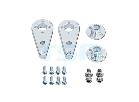 TSA Infusion 700E PRO, 700N PRO Platinum-Upgrade - JR Servo Lever Set (Metal)