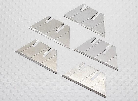 45 Grad-Schneidwerkzeug für Schaum- und Balsa - Ersatzklingen (5 Stück)