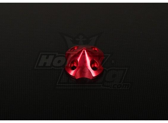 3DSpinner für HP-50 / DLE55 / DA50 / JC51 (41x41x26mm) Rot