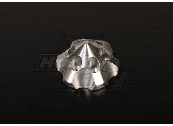 3D Spinner für DLE111 / DA100 / TMM-53 / TMM-106 / 3W 50-100 (Silber)