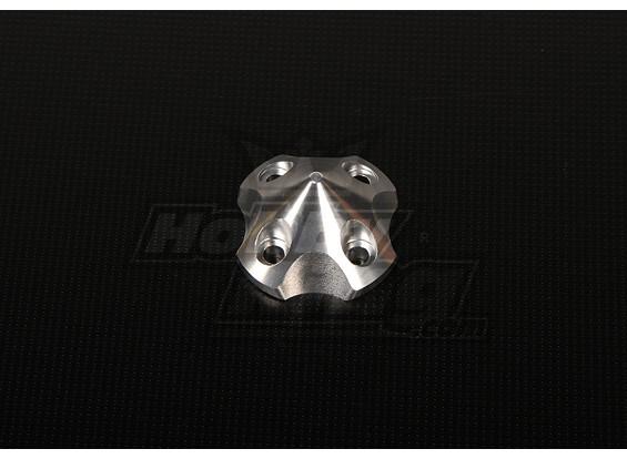 3DSpinner für HP-50 / DLE55 / DA50 / JC51 (41x41x26mm) Silber