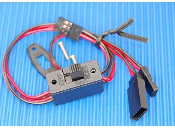 Receiver-Schalter (3 Stecker) Anzüge JR / Futaba