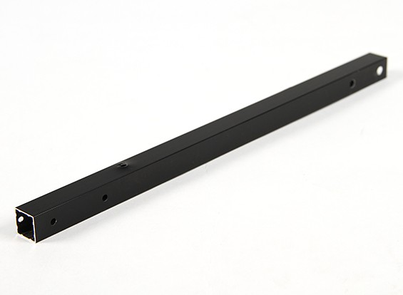 Aluminium-Vierkantrohre DIY Multi-Rotor 12.8x12.8x250mm X525 (.5Inch) (Schwarz)