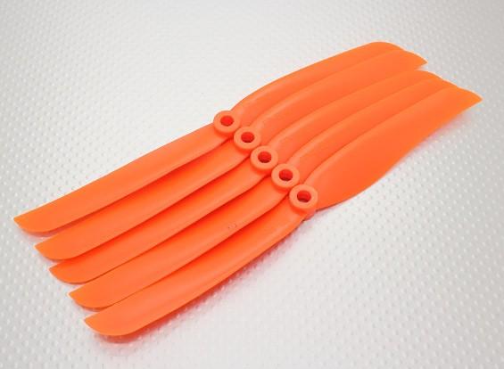 GWS-Art Propeller 8x4 Orange (CCW) (5 Stück)
