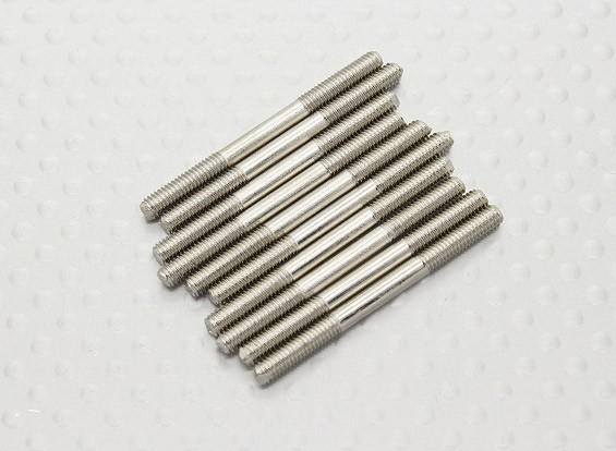 M3 x 35mm Stahlschubstange (10 Stück)