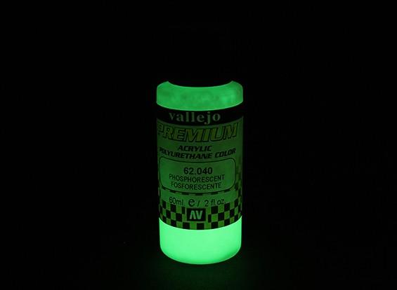 Vallejo Premium-Farbe Acrylfarbe - Phosphorescent (60 ml)