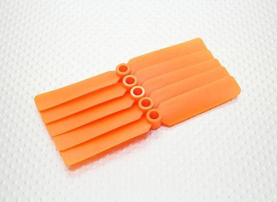 Hobbyking ™ Propeller 4x2,5 Orange (CW) (5 Stück)