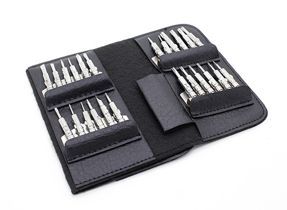 25pc Schraubendreher mit Carry Case Set