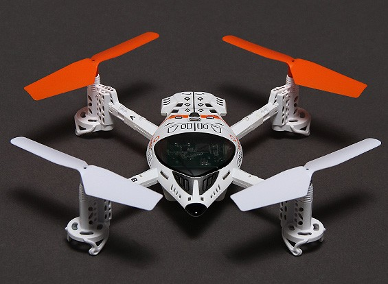 Walkera QR W100S Wi-Fi FPV Micro Quadcopter IOS kompatibel (Mode 2) (RTF)