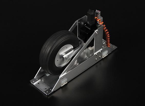 Glider Servoless einfahren W / Türen und Sequencer Anzug 5-6m Airframes