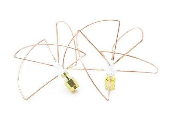 2,4-GHz-zirkular polarisierte Antenne SMA (Set) (Kurz-)