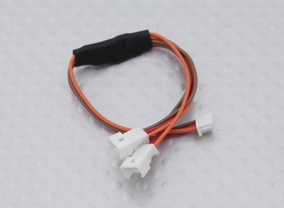 115mm Male JST-SH 1.0mm zu Twin Female Molex 1,25 Y Blei