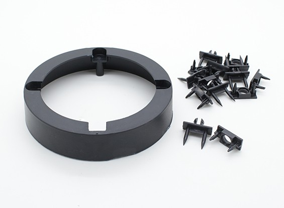 Radjet Ultra-Pusher 790mm - Motor Mount Ring und Canopy Fastener Clips