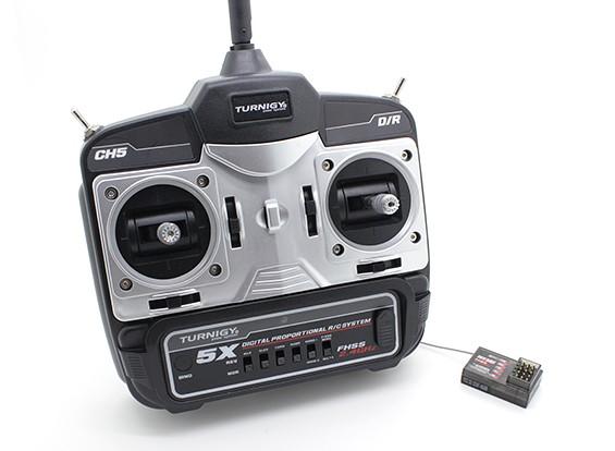 Turnigy 5X 5Ch Mini Sender und Empfänger (Modus 1)