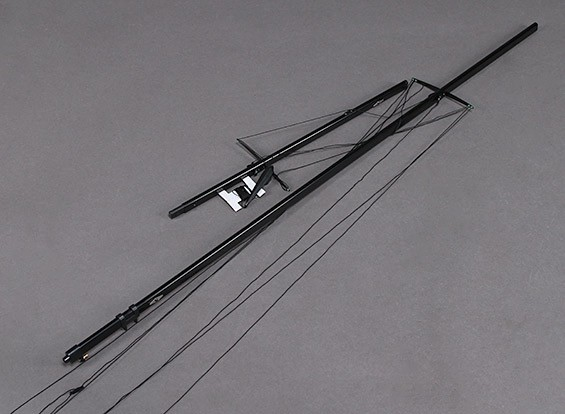 Fiberglas RC Yacht Segel Monsoon- Mast Set