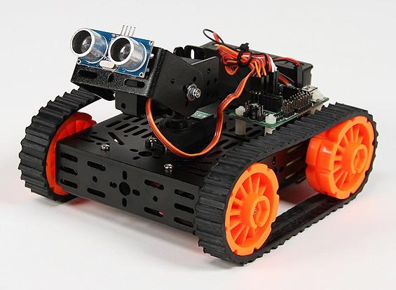 DG012 EV (Explorer Version) Multi Chassis Kit mit Gummiketten und Zubehör.