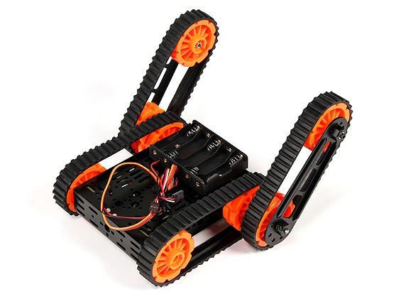 DG012-RP (Rescue-Platform) Multi Chassis Kit mit vier Gummiketten