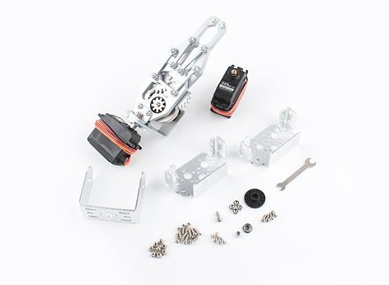 Robotergreifer und Handgelenk 200mm